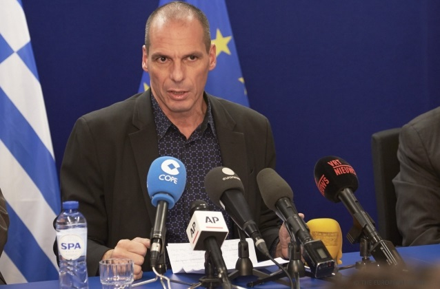 Yanis Varoufakis - foto Consiglio europeo