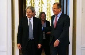 Gentiloni Lavrov