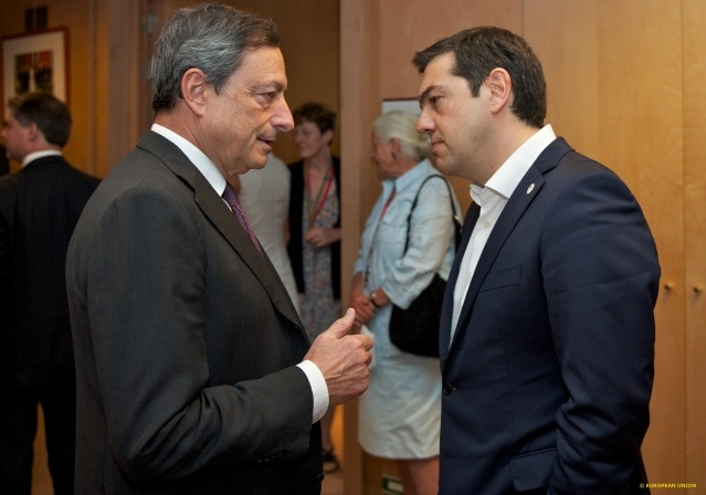 Draghi Tsipras