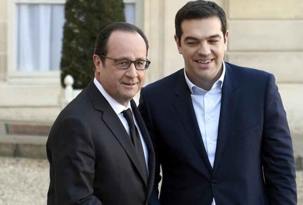 FRANCE-GREECE-DIPLOMACY-POLITICS-DEBT