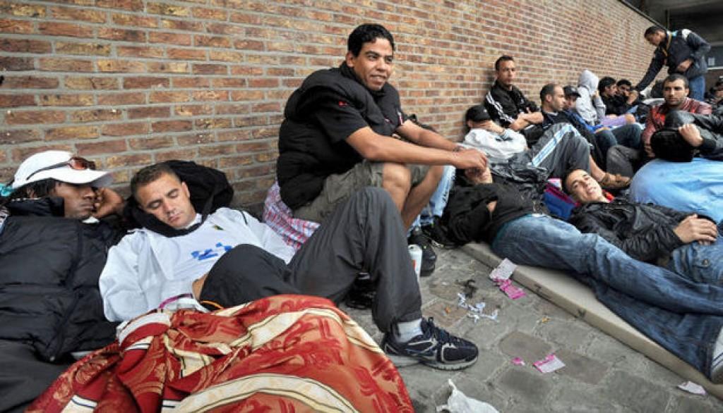 richiedenti asilo Belgio