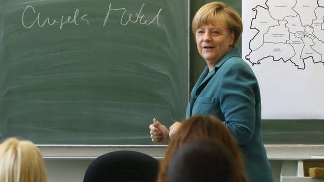Merkel insegna