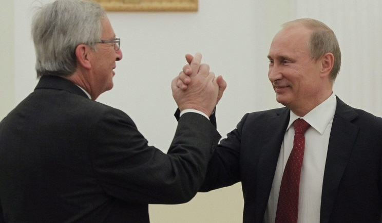 Juncker Putin