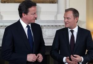David Cameron e Donald Tusk