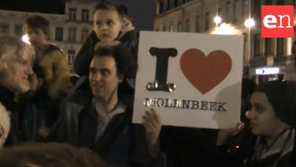 Molenbeek manifestazione