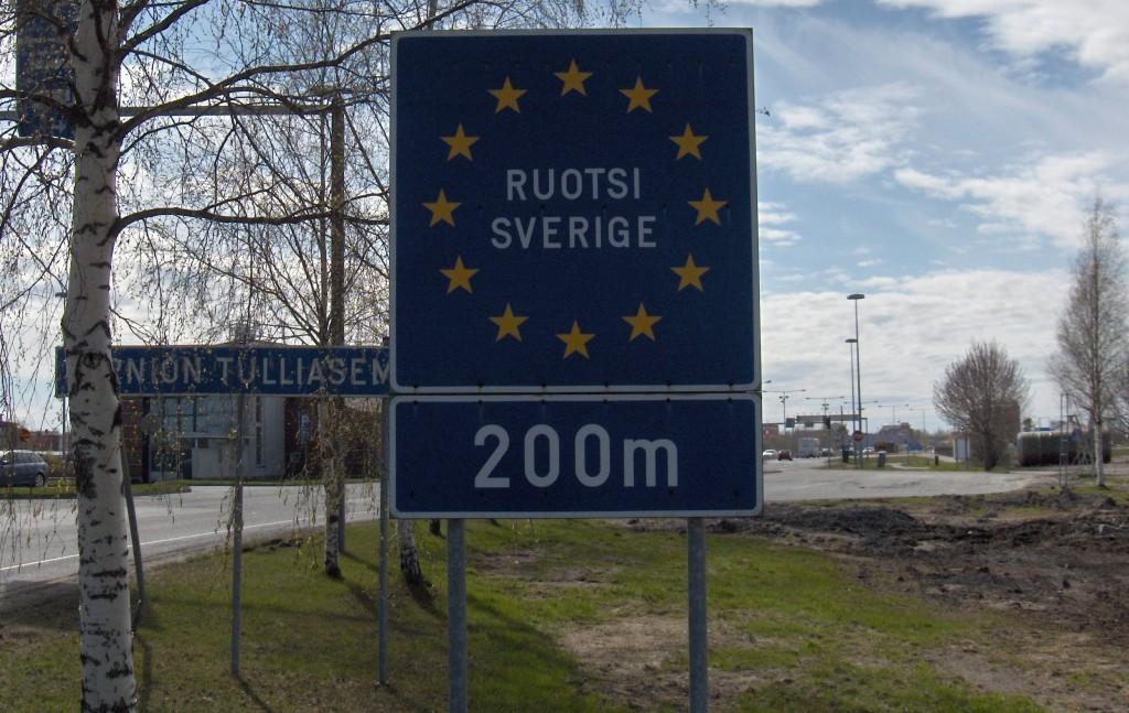 confine Svezia