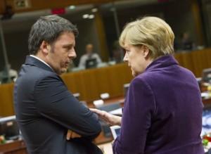 Renzi Merkel