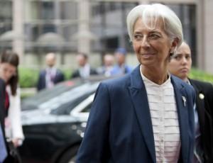 La direttrice del Fmi Christine Lagarde - foto Consiglio Ue