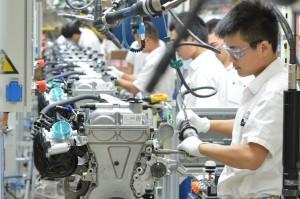 Cina fabbrica
