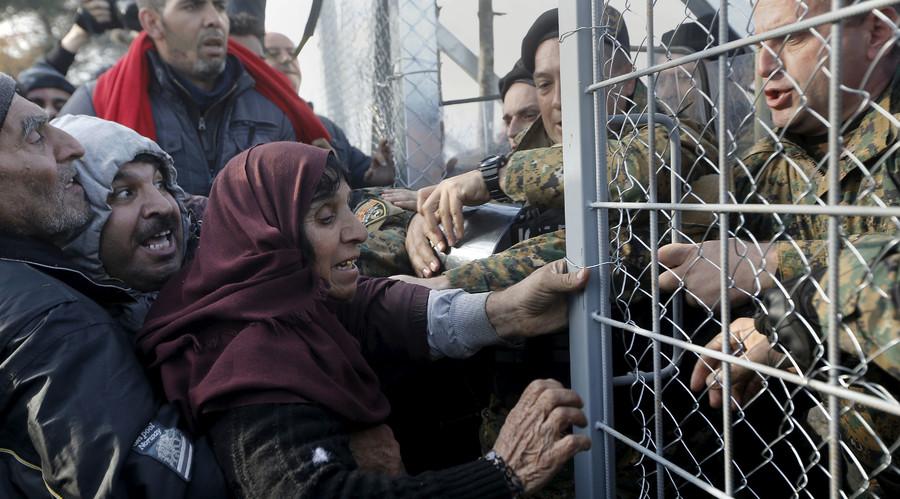 Schengen Grecia Macedonia