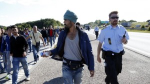 Danimarca migranti polizia