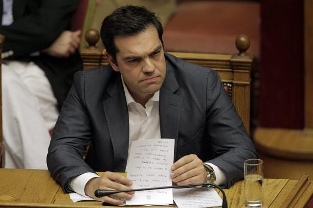 Tsipras pensioni Grecia austerità tagli eurogruppo