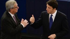 Renzi, Juncker, manovra, bruxelles