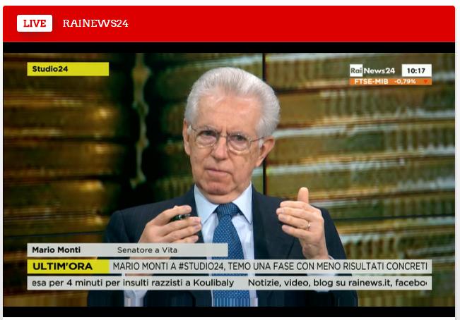 Mario Monti, Matteo Renzi, Ue, Europa, Commissione europea
