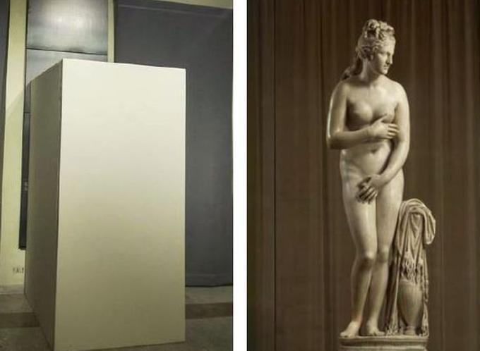 La Venere capitolina, nudi, Rouhani