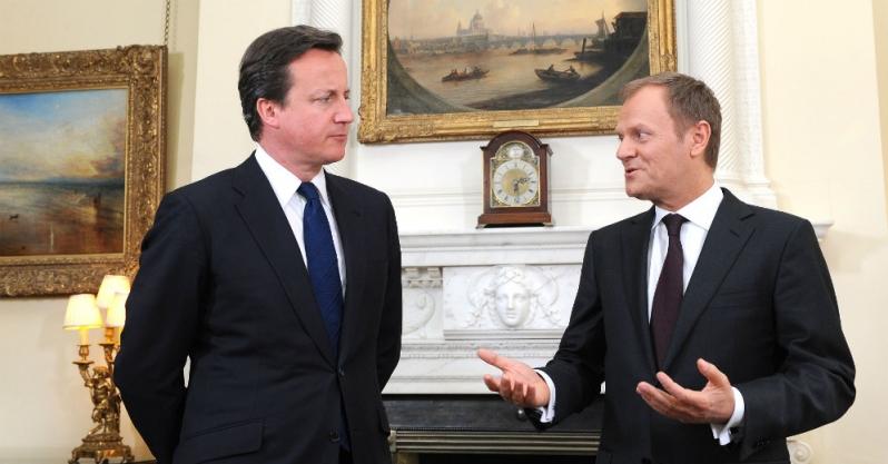 Tusk, lettera, brexit, Cameron