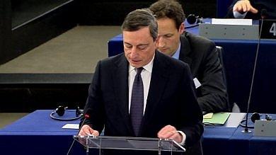 Draghi, Parlamento europeo, bce, inflazione