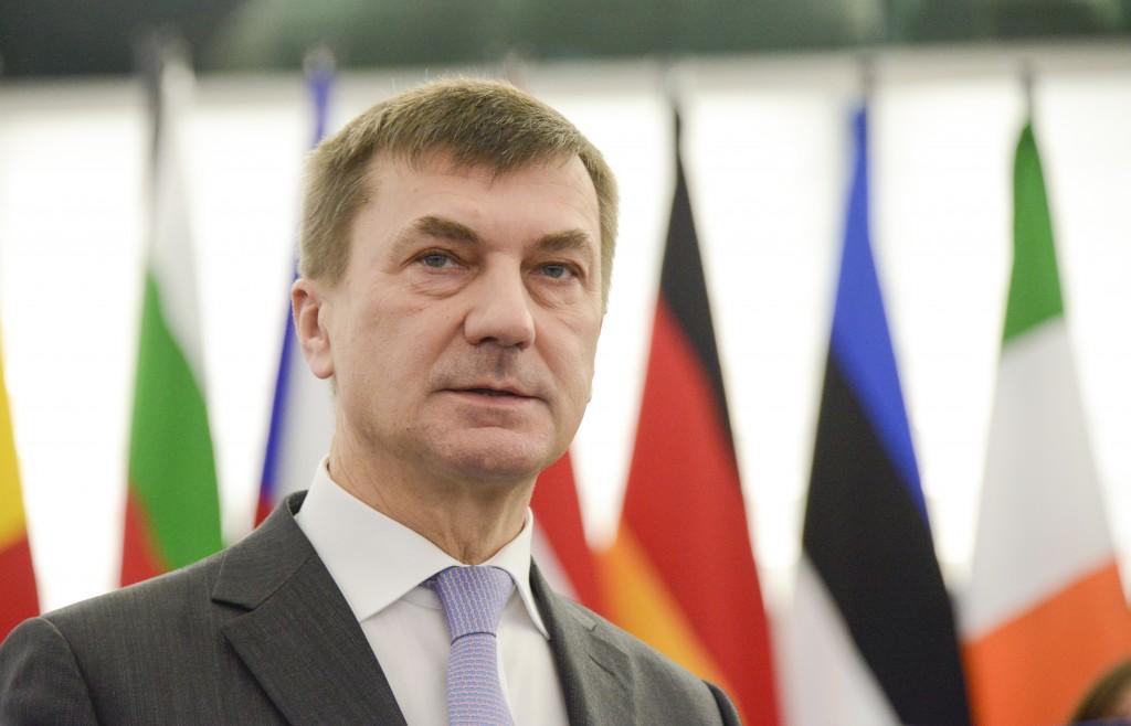 Andrus Ansip - fonte: Parlamento europeo