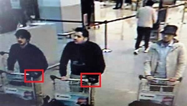Bruxelles, foto, attenbtati, terroristi, aeroporto, metropolitana