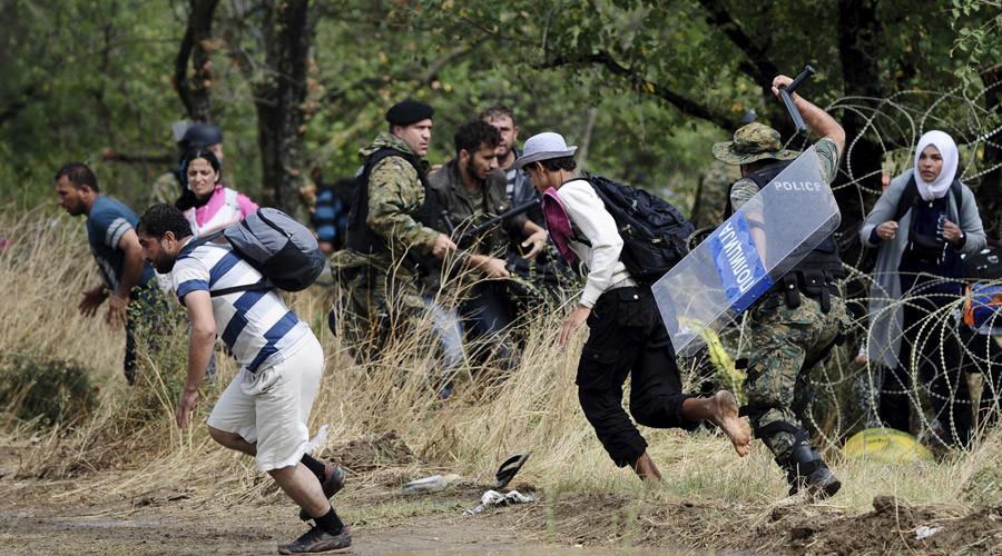 rifugiati Macedonia