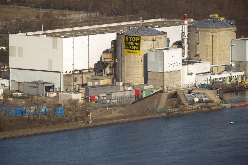 la centrale nucleare di Fessenheim