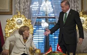 Erdogan, Merkel, Turchia, Germania, satira, libertà di stampa