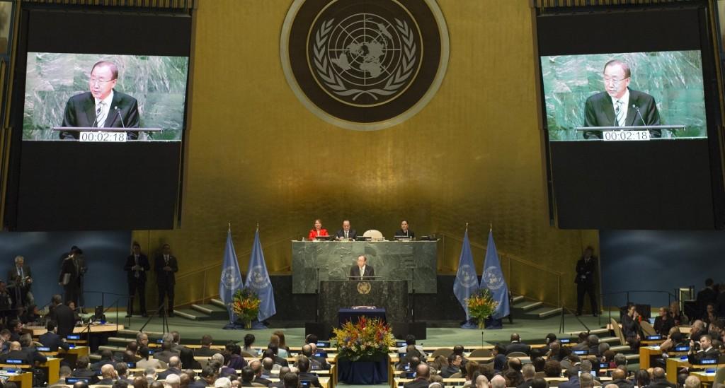 Il discorso di Ban Ki-moon alla cerimonia - foto Onu