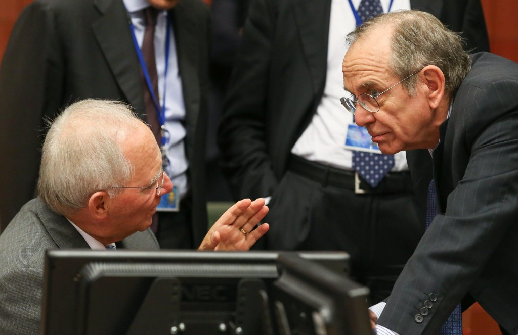 Eurogroup meeting in Brussels