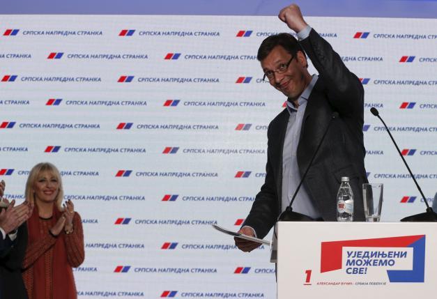 Vucic, Serbia, elezioni