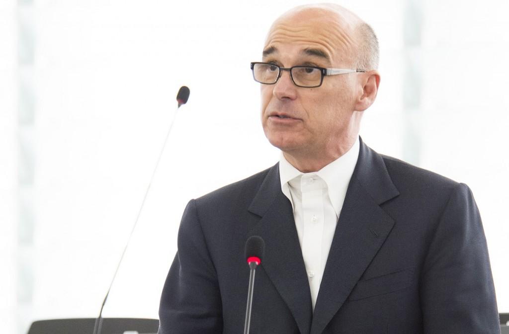 Renato Soru in Aula a Strasburgo - © European Union - Source : EP