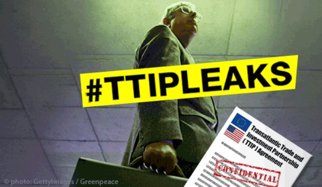 TTIP: Greenpeace svela carte, USA minacciano salute UE
