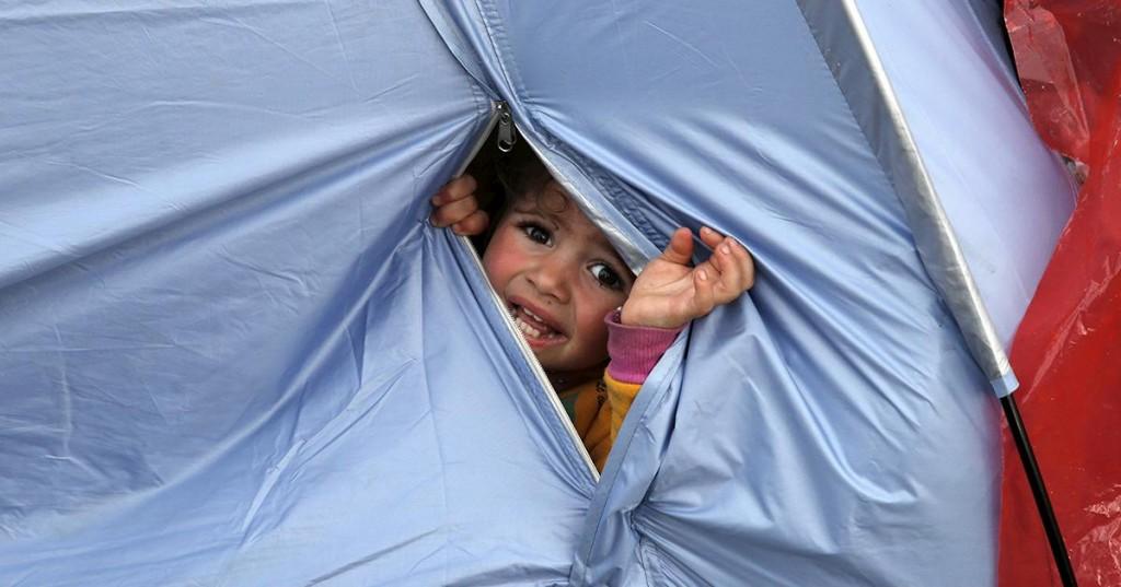 Idomeni Grecia rifugiati bambini profughi