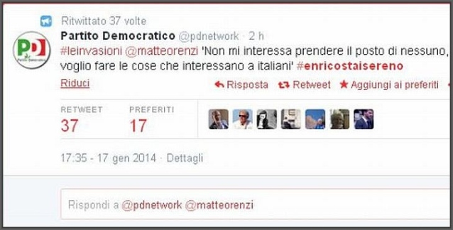 Wanda Marra, Matteo Renzi, comunicazione