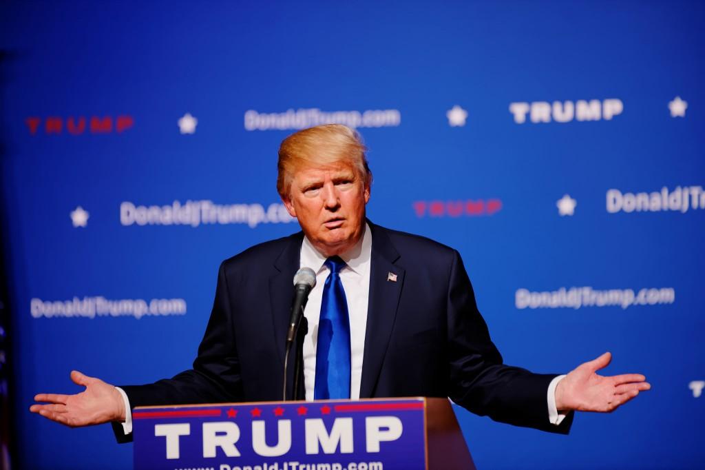 Donald Trump, candidato repubblicano alla presidenza americana