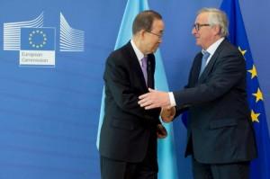 Ban Ki-Moon Juncker
