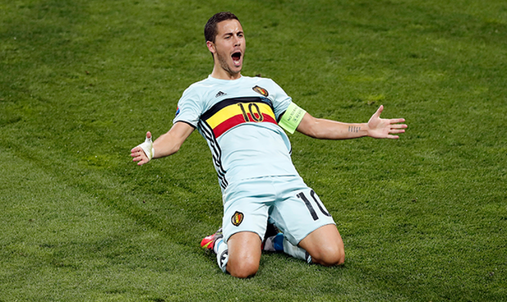 Hazard Belgio Francia2016