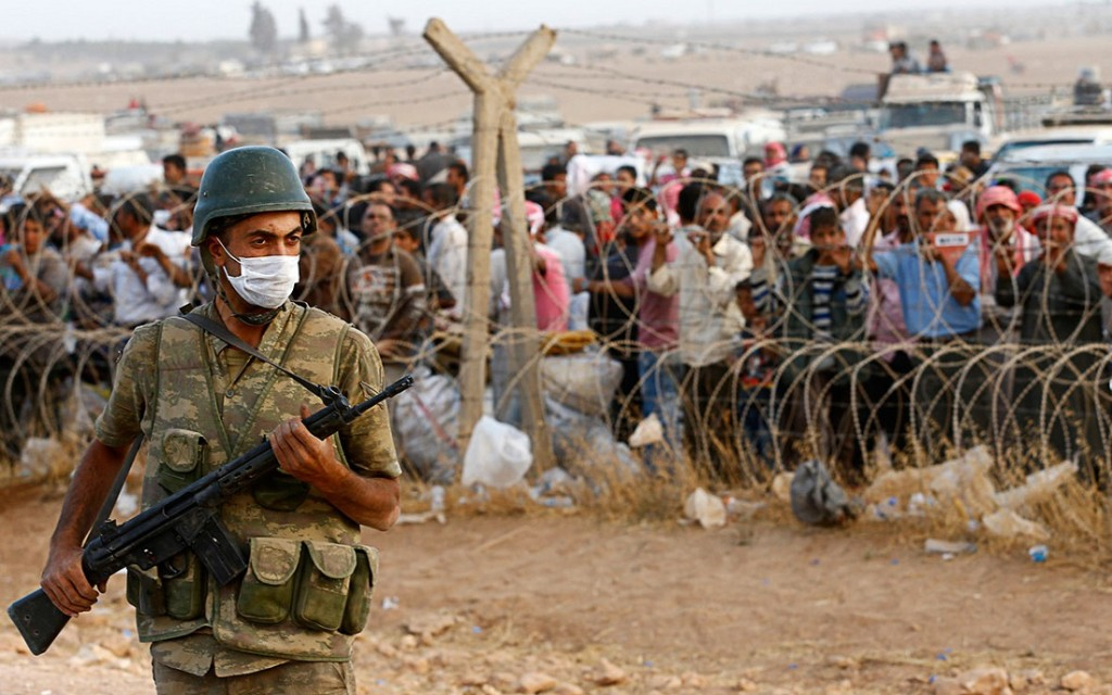 Turchia Siria confine