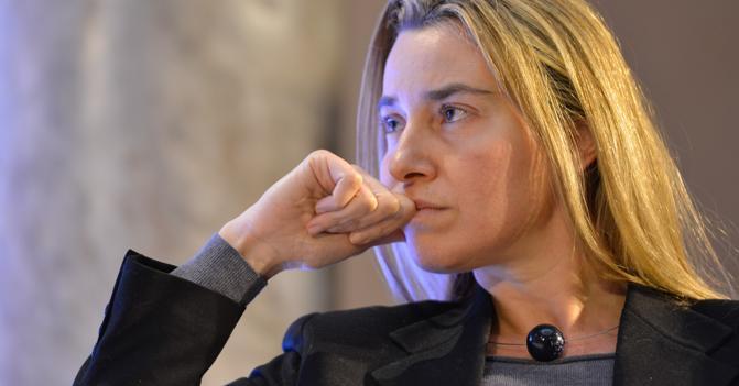 Federica Mogherini, Unione europea, Alto rappresentante per la politica estera e di sicurezza dell'Ue,