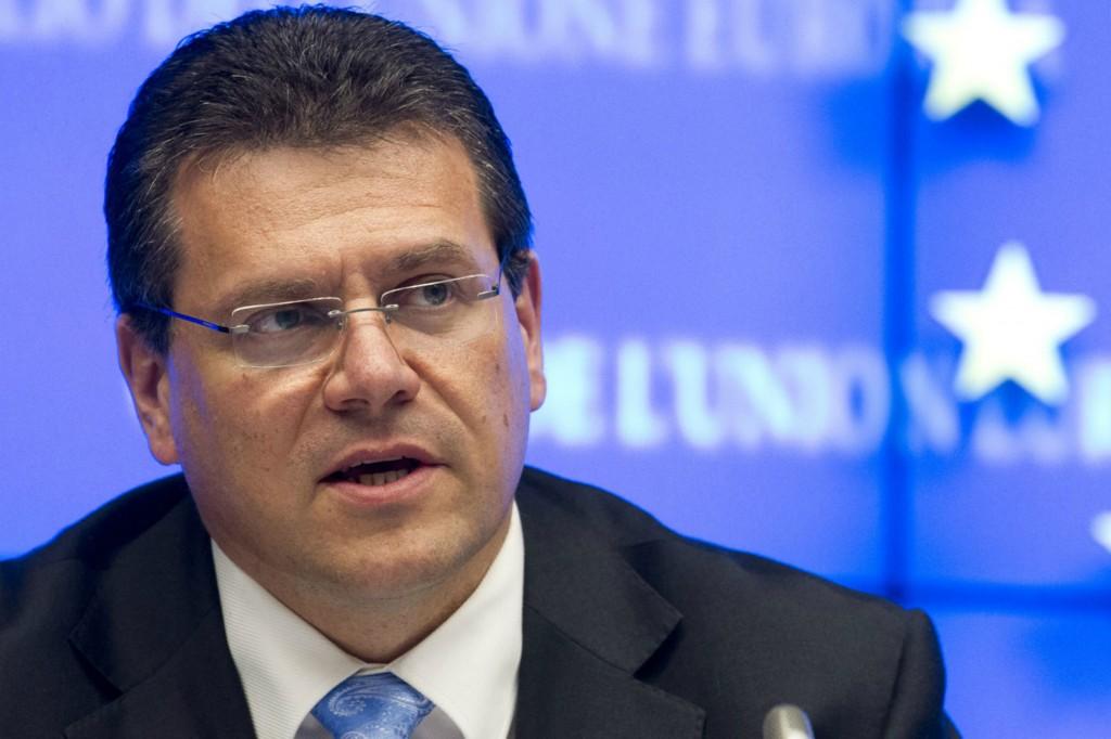Maros Sefcovic, vicepresidente della Commissione europea e Commissario europeo per l'unione energetica