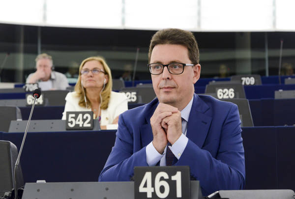 Nicola Danti, Parlamento Ue,