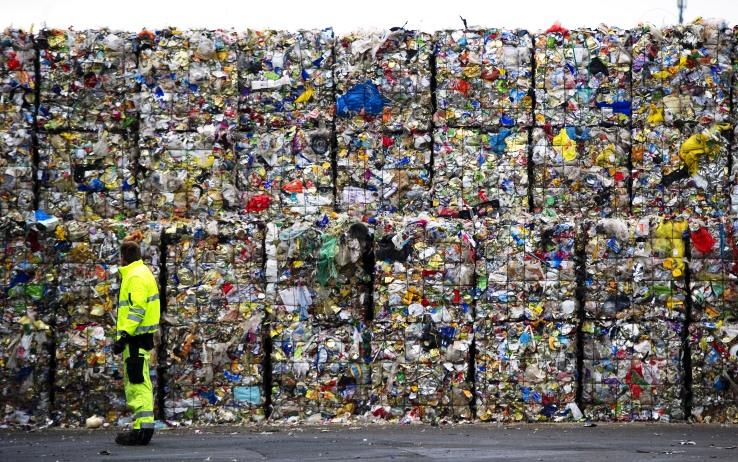 riciclaggio, imballaggi monouso, riciclo,