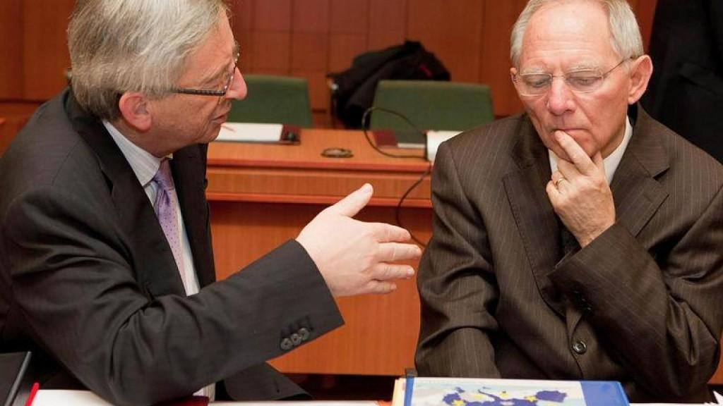 Juncker Schauble