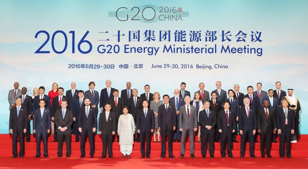 I ministri per l'energia al G20 di Pechino, Cina