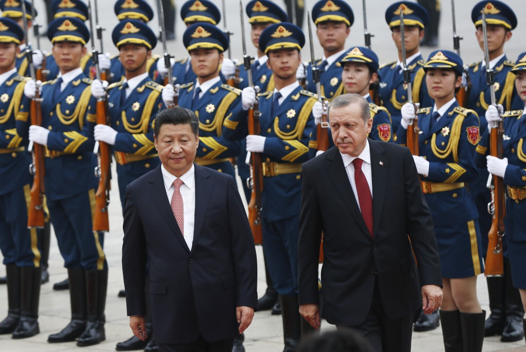 Turkish President visits China