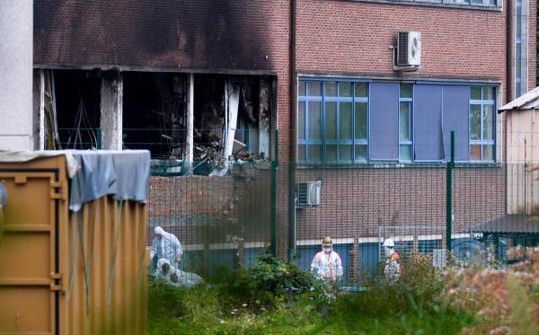 Bruxelles, crimonologia dna, prove esplosione