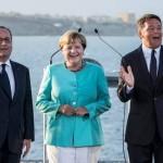Ventotene Renzi Merkel Hollande