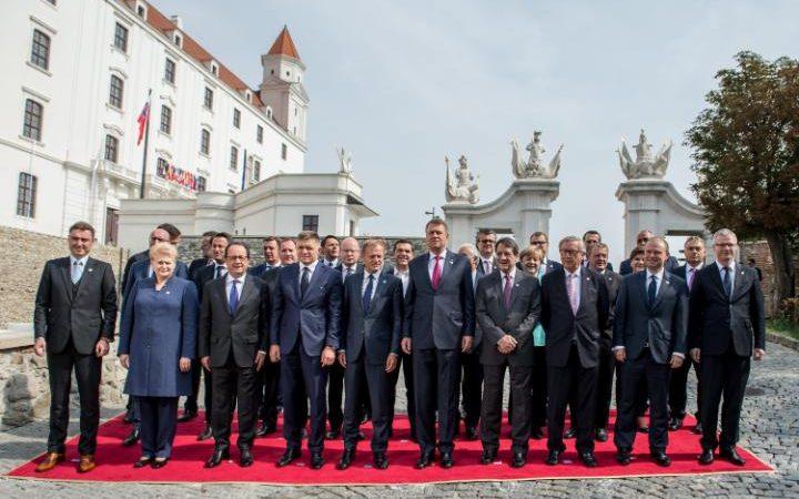Bratislava dichiarazione roadmap