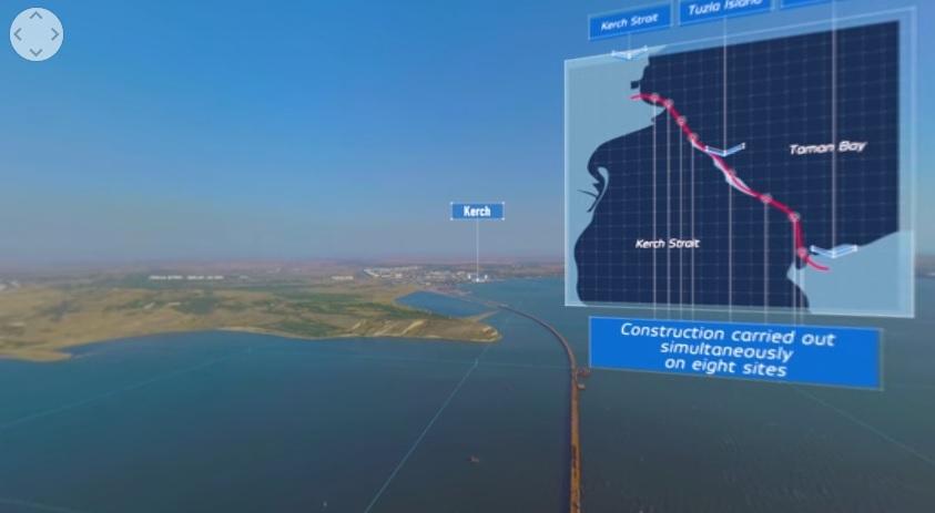 Ponte Crimea Russia