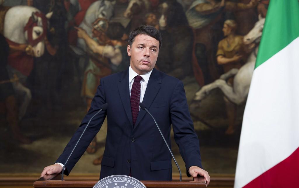 Il presidente del Consiglio Matteo Renzi (Foto Barchielli, Palazzo Chigi)