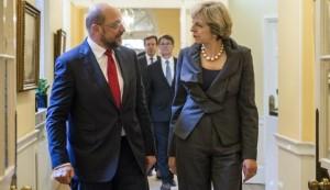 Schulz Brexit veto